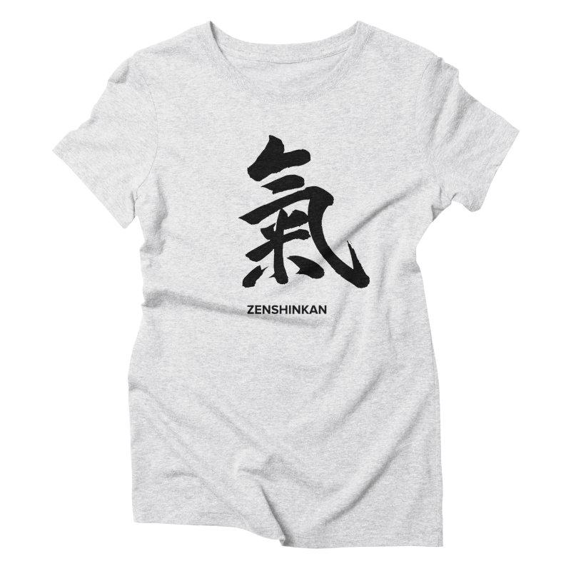 Ki Women's Triblend T-Shirt by Zenshinkan's Shop