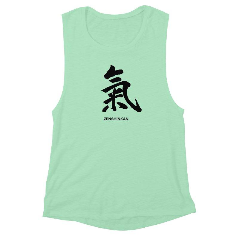 Ki Women's Muscle Tank by Zenshinkan's Shop