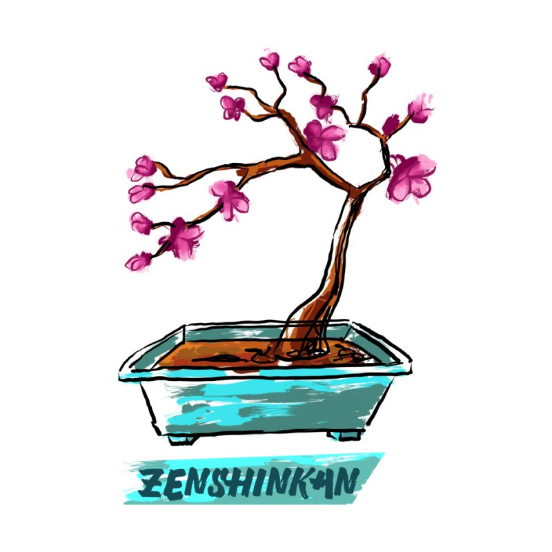 Japanese Flowering Tree None  by Zenshinkan's Shop