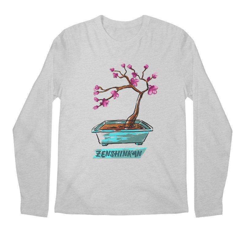 Japanese Flowering Tree Men's Longsleeve T-Shirt by Zenshinkan's Shop