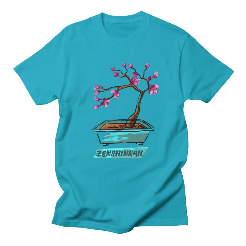 Japanese Flowering Tree Men's T-Shirt by Zenshinkan's Shop