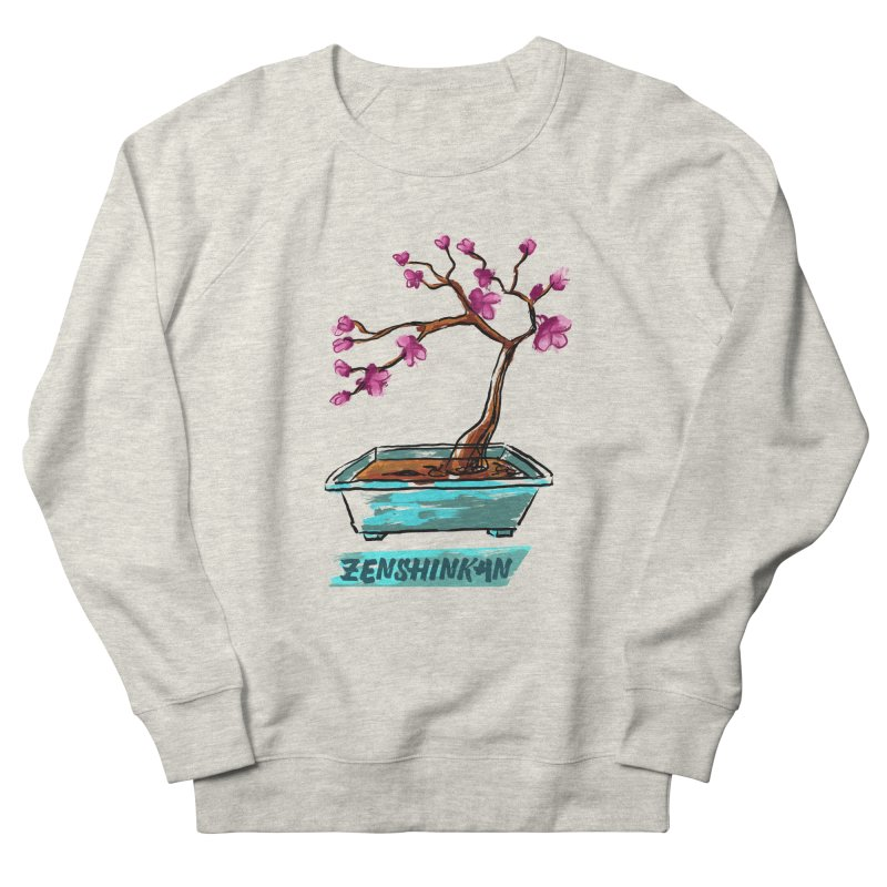 Japanese Flowering Tree Men's Sweatshirt by Zenshinkan's Shop