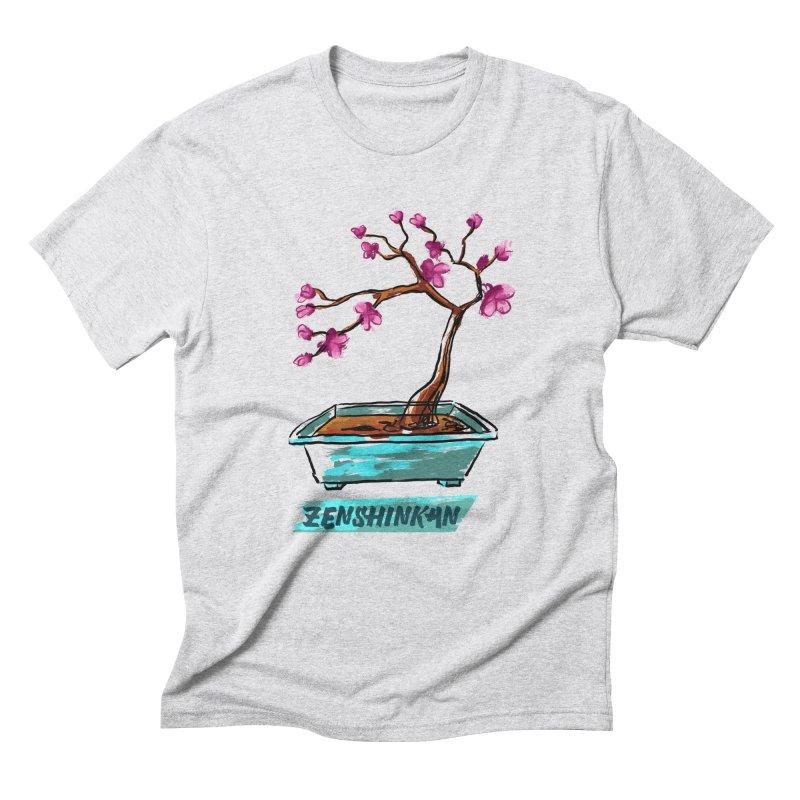 Japanese Flowering Tree Men's Triblend T-shirt by Zenshinkan's Shop