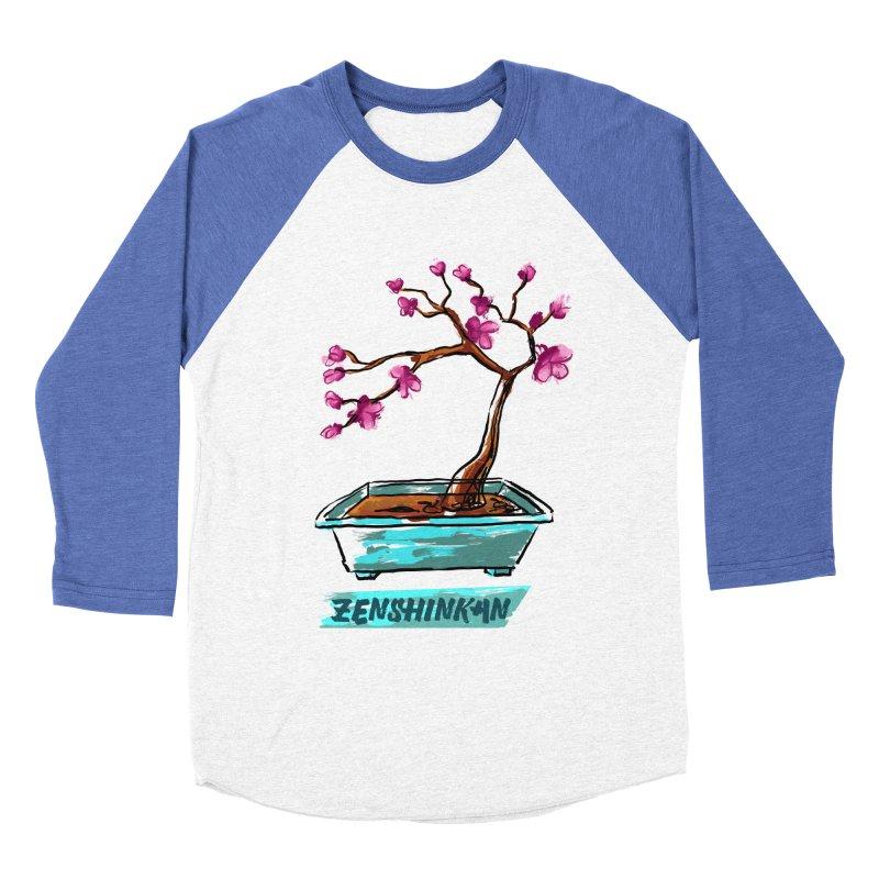 Japanese Flowering Tree Women's Baseball Triblend T-Shirt by Zenshinkan's Shop