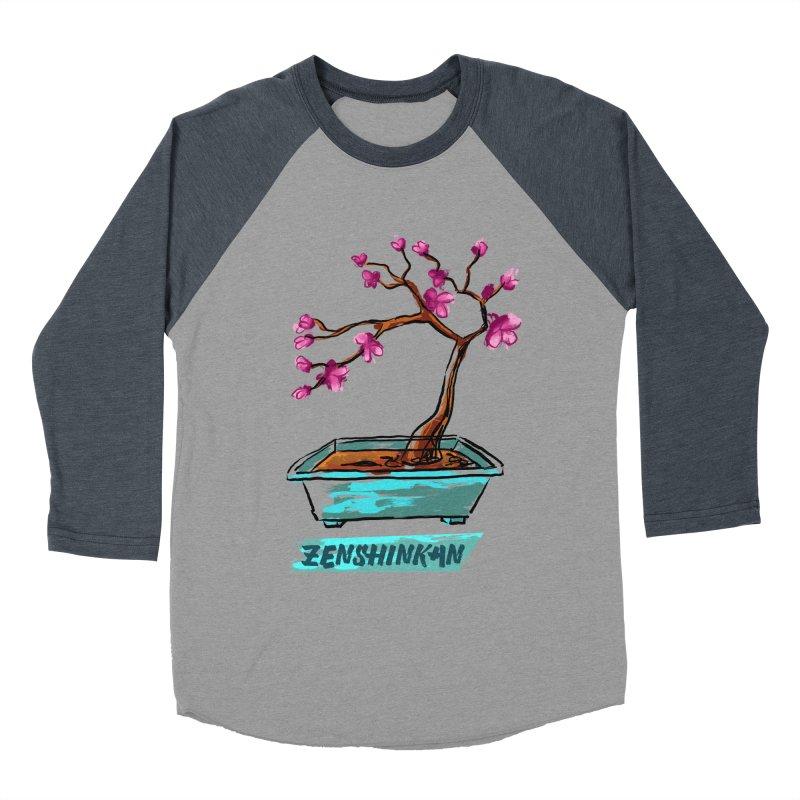 Japanese Flowering Tree Men's Baseball Triblend T-Shirt by Zenshinkan's Shop