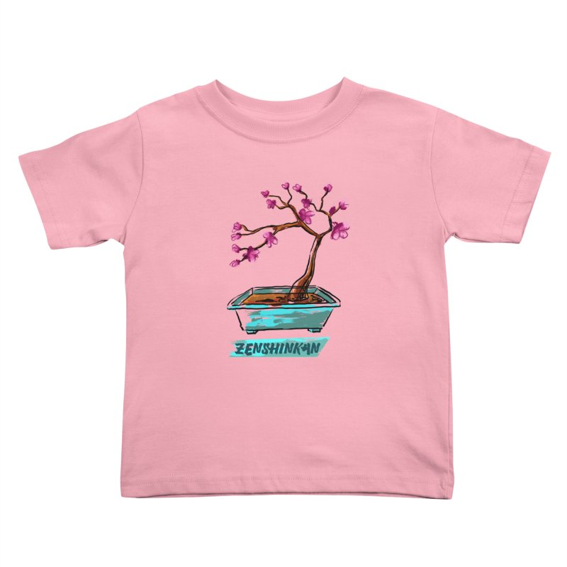 Japanese Flowering Tree Kids Toddler T-Shirt by Zenshinkan's Shop