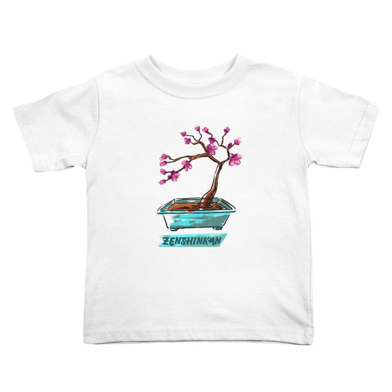 Japanese Flowering Tree Kids Toddler T-Shirt by Zenshinkan's Shop