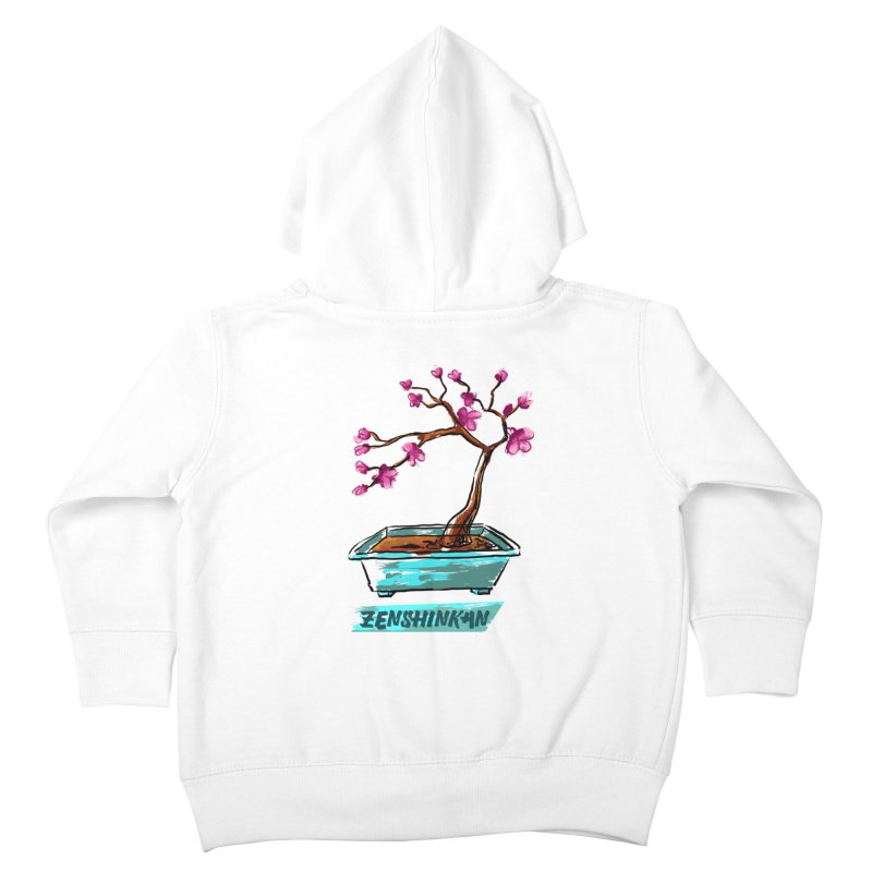 Japanese Flowering Tree Kids Toddler Zip-Up Hoody by Zenshinkan's Shop