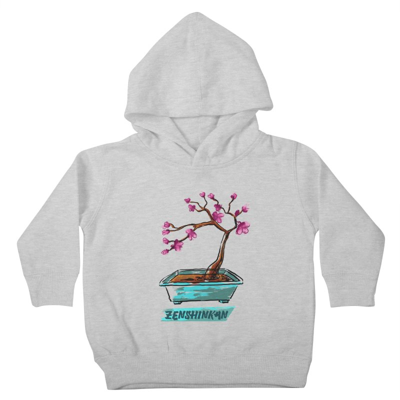 Japanese Flowering Tree Kids Toddler Pullover Hoody by Zenshinkan's Shop