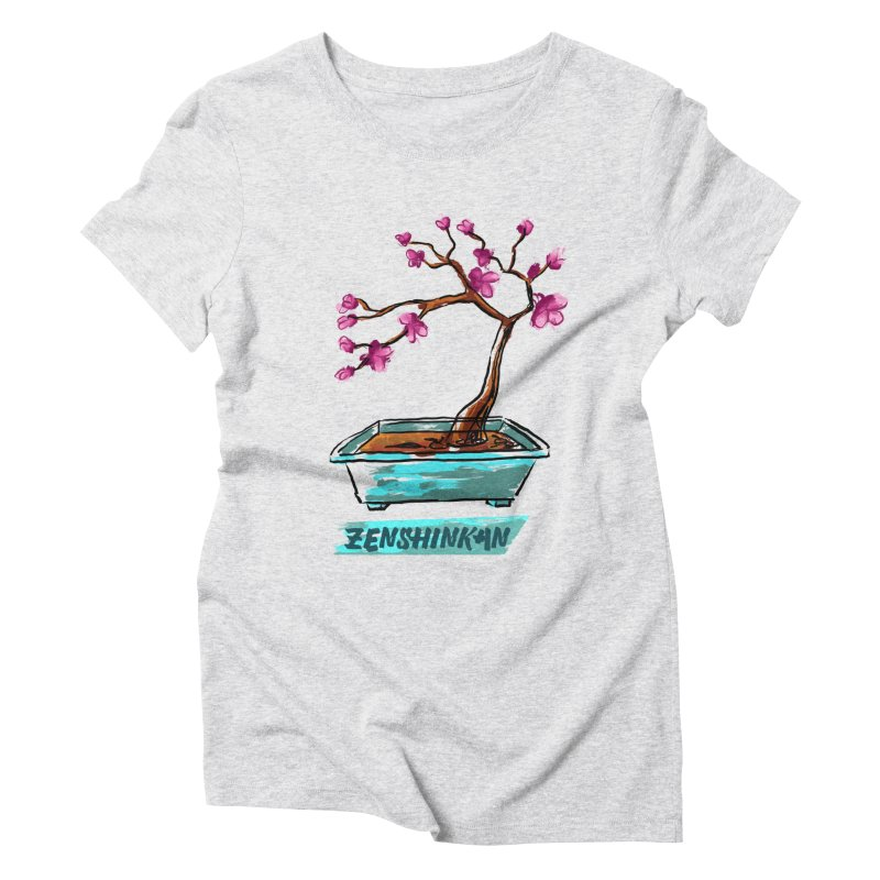 Japanese Flowering Tree Women's Triblend T-Shirt by Zenshinkan's Shop