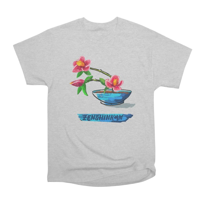 Ikebana II Women's Heavyweight Unisex T-Shirt by Zenshinkan's Shop