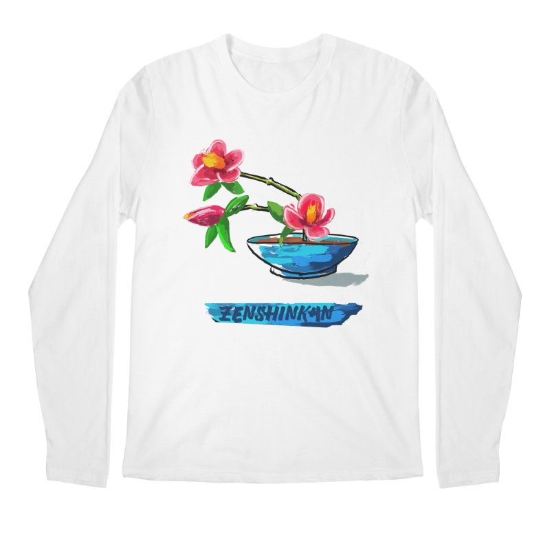 Ikebana II Men's Regular Longsleeve T-Shirt by Zenshinkan's Shop