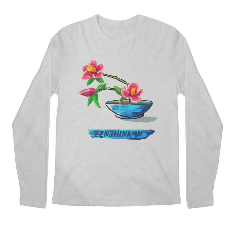 Ikebana II Men's Longsleeve T-Shirt by Zenshinkan's Shop