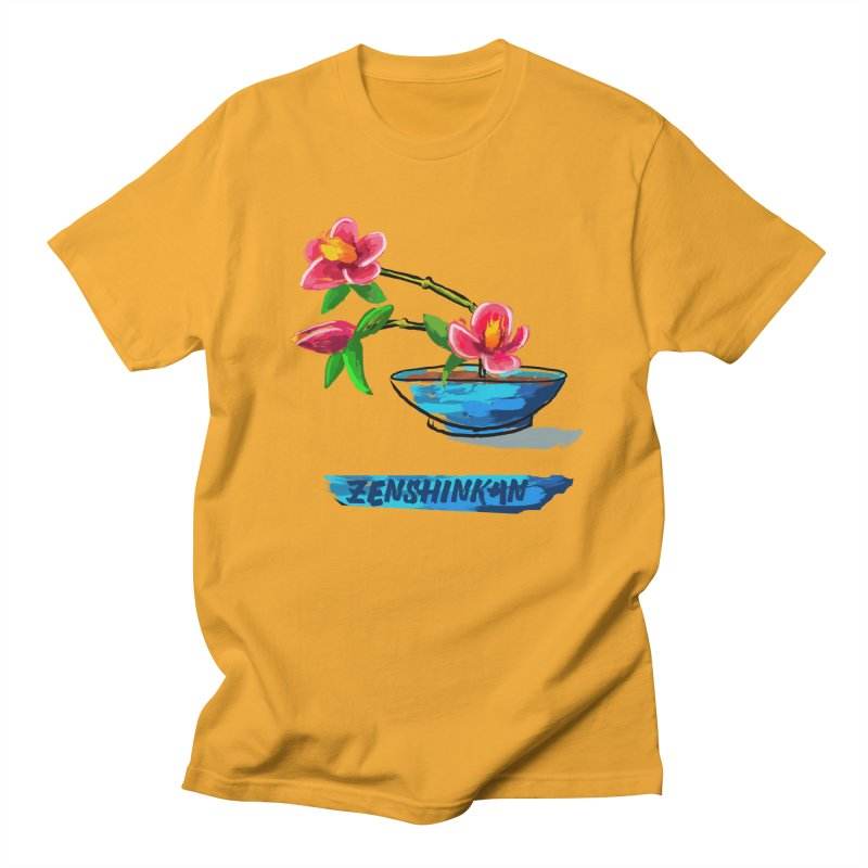 Ikebana II Women's Regular Unisex T-Shirt by Zenshinkan's Shop