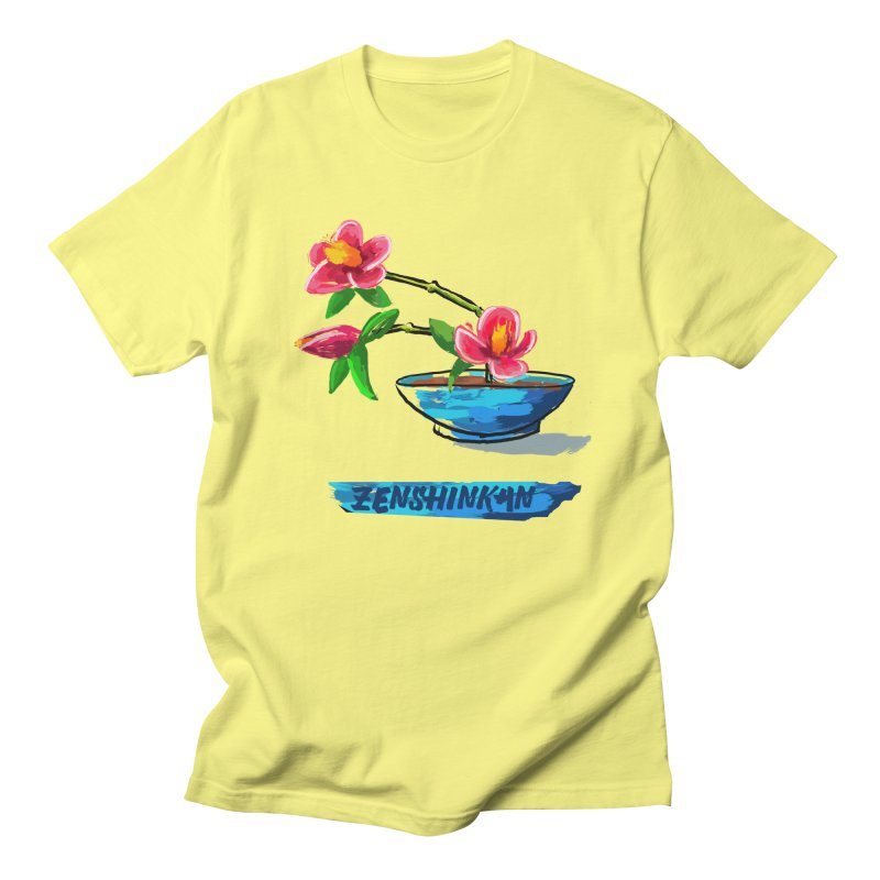Ikebana II Men's T-Shirt by Zenshinkan's Shop