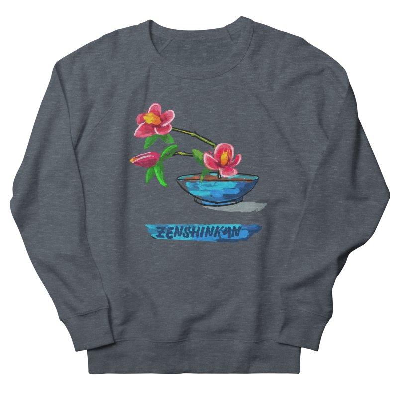 Ikebana II Women's French Terry Sweatshirt by Zenshinkan's Shop