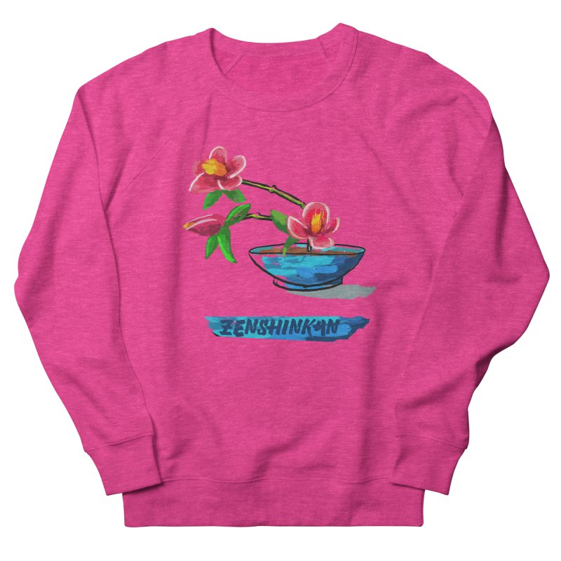 Ikebana II Women's French Terry Sweatshirt by Zenshinkan's Shop