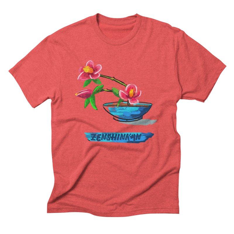 Ikebana II Men's Triblend T-Shirt by Zenshinkan's Shop