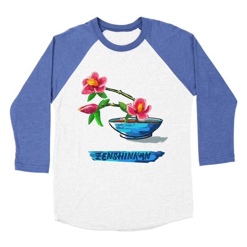 Ikebana II Women's Baseball Triblend Longsleeve T-Shirt by Zenshinkan's Shop
