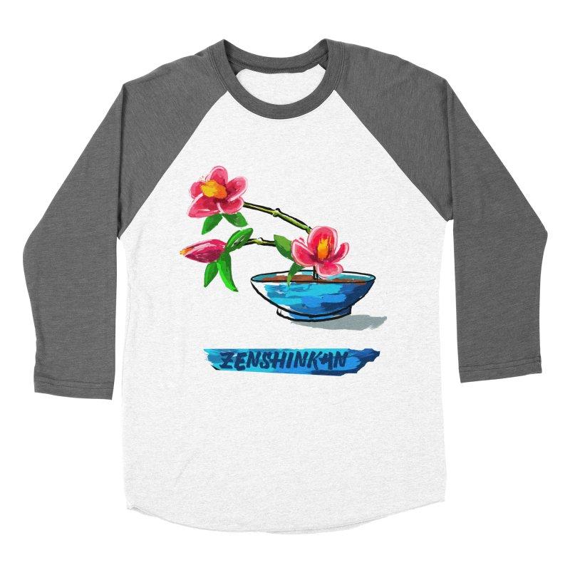 Ikebana II Men's Baseball Triblend Longsleeve T-Shirt by Zenshinkan's Shop