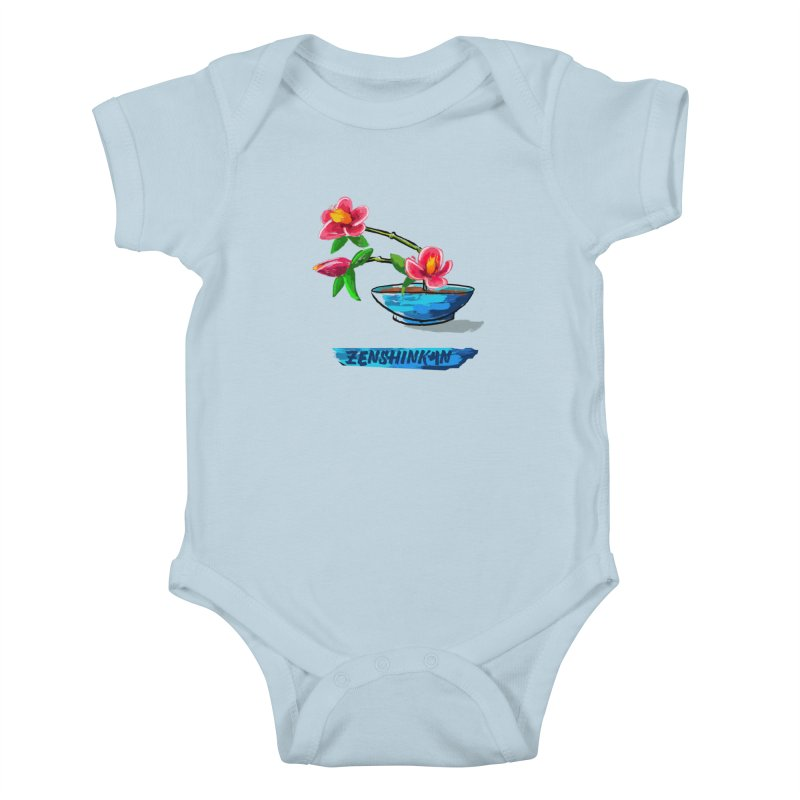 Ikebana II Kids Baby Bodysuit by Zenshinkan's Shop