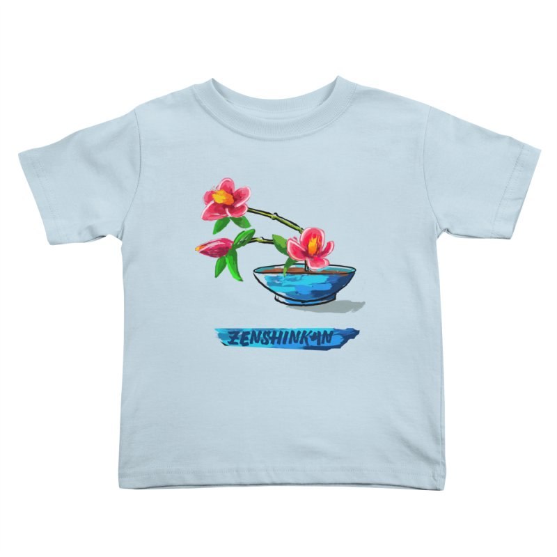 Ikebana II Kids Toddler T-Shirt by Zenshinkan's Shop