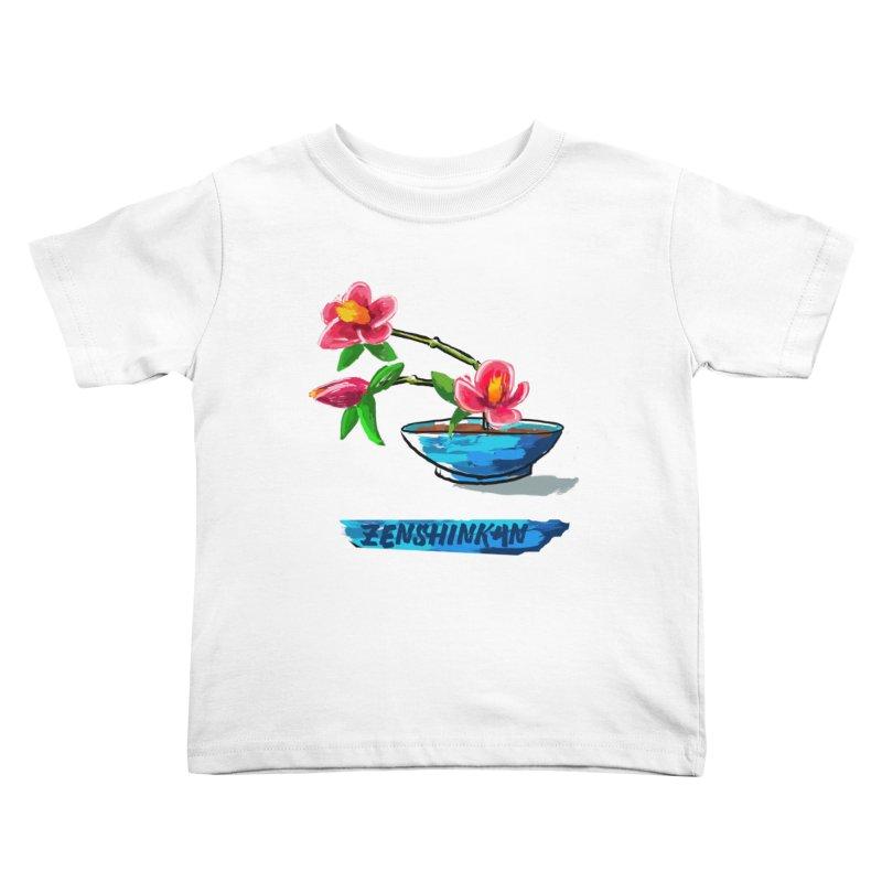 Ikebana II Kids Toddler T-Shirt by Zenshinkan's Shop