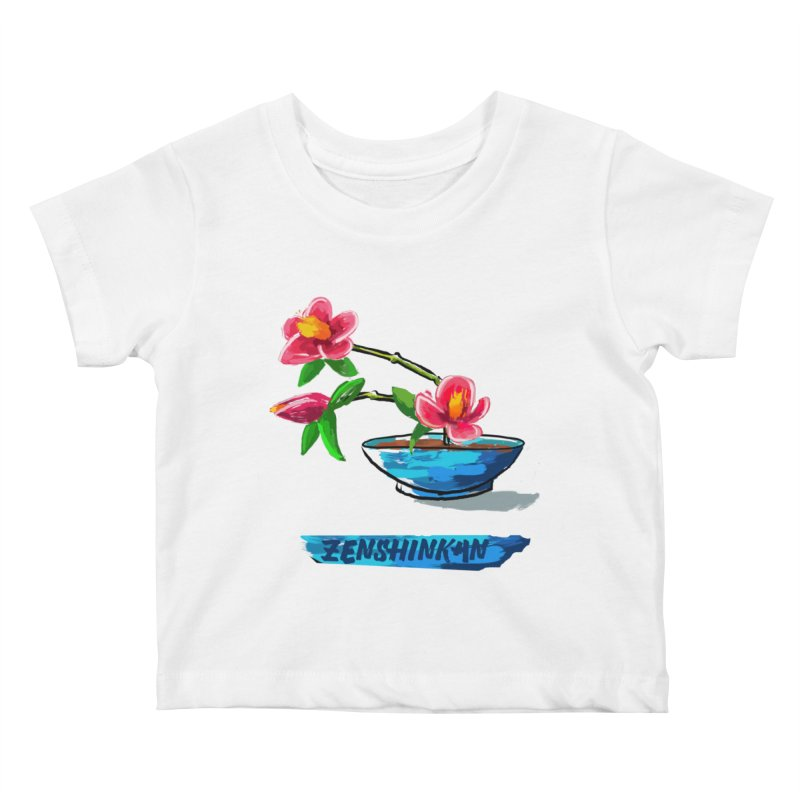 Ikebana II Kids Baby T-Shirt by Zenshinkan's Shop