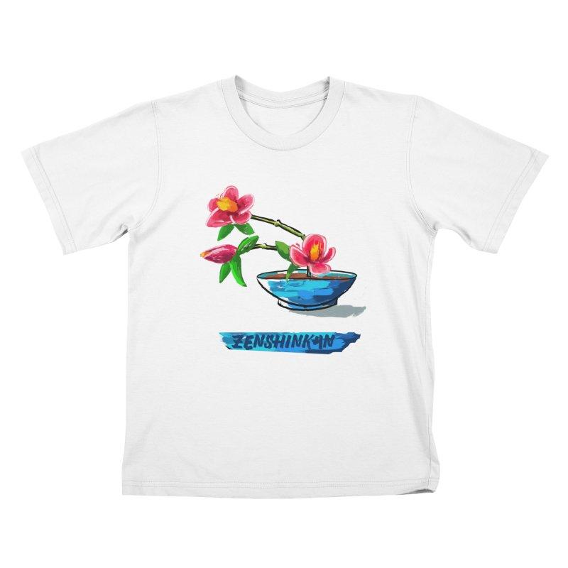 Ikebana II Kids T-Shirt by Zenshinkan's Shop
