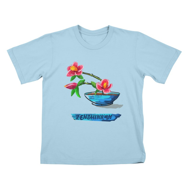 Ikebana II Kids T-Shirt by Zenshinkan's Shop