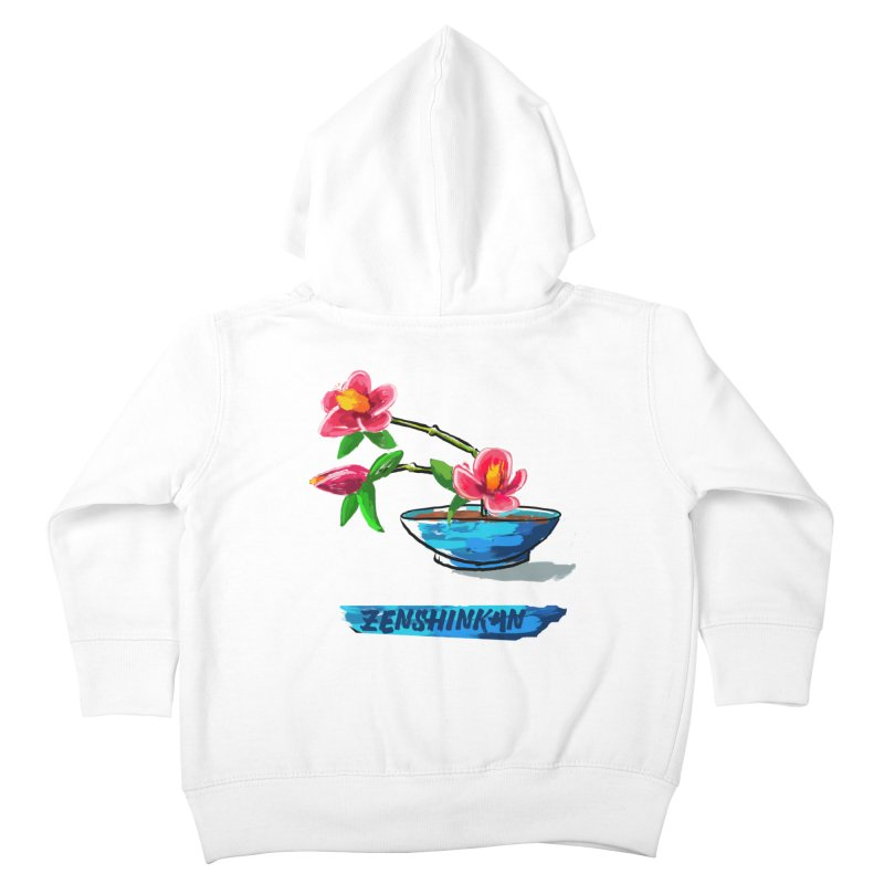 Ikebana II Kids Toddler Zip-Up Hoody by Zenshinkan's Shop