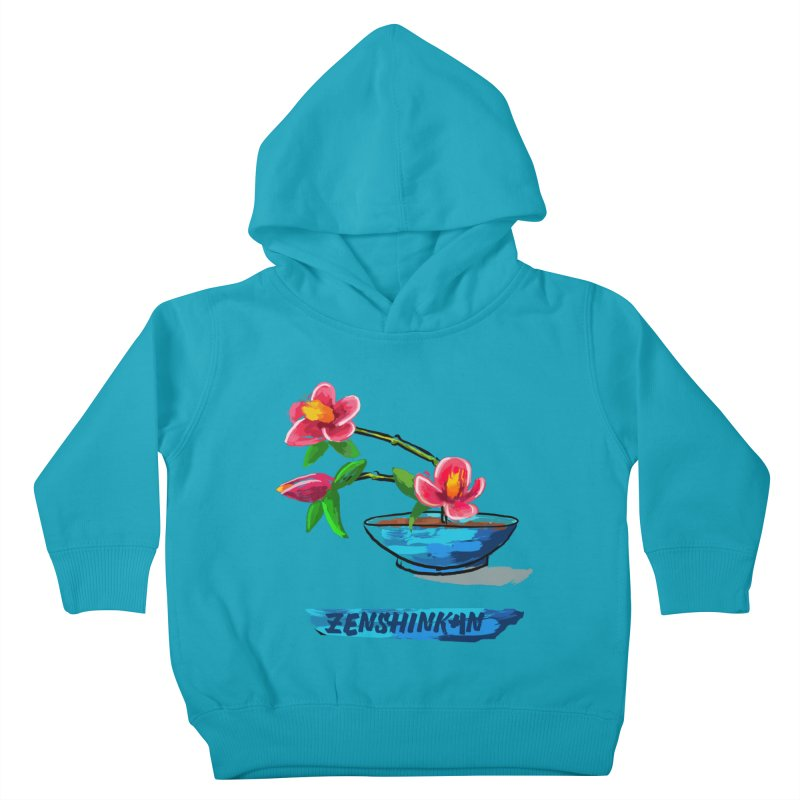 Ikebana II Kids Toddler Pullover Hoody by Zenshinkan's Shop