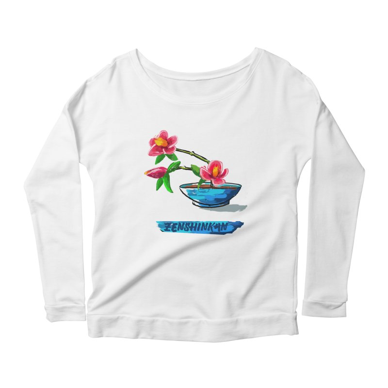 Ikebana II Women's Scoop Neck Longsleeve T-Shirt by Zenshinkan's Shop