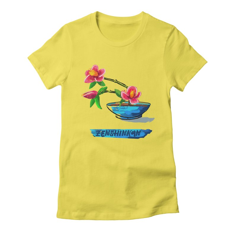 Ikebana II Women's T-Shirt by Zenshinkan's Shop