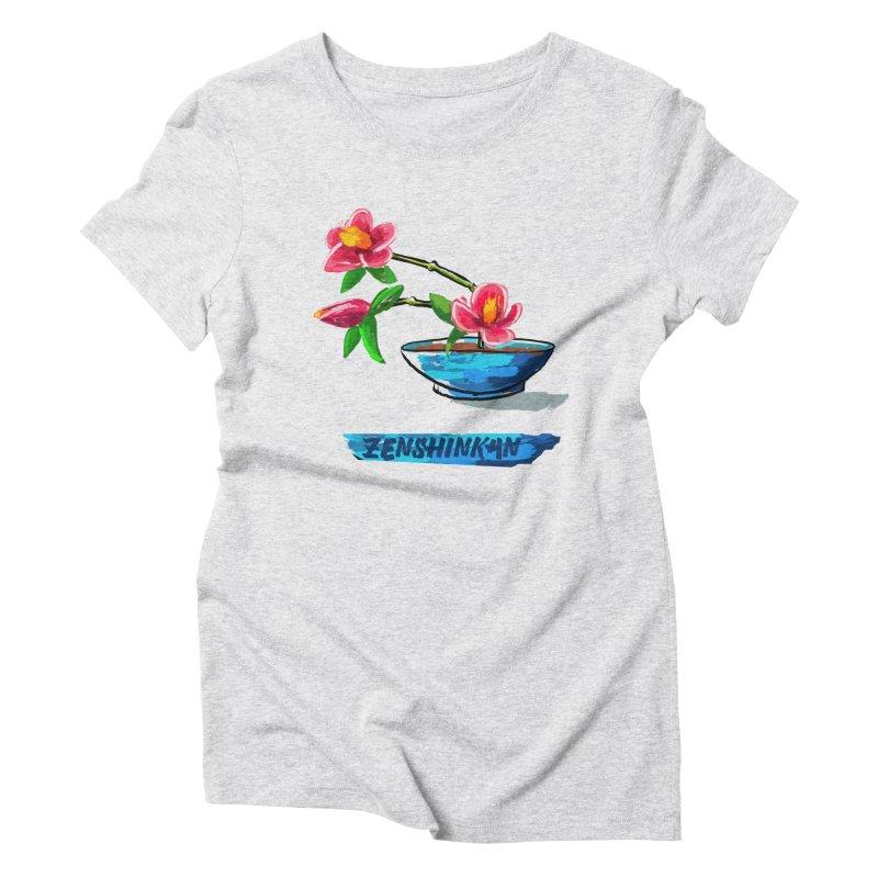 Ikebana II Women's Triblend T-Shirt by Zenshinkan's Shop