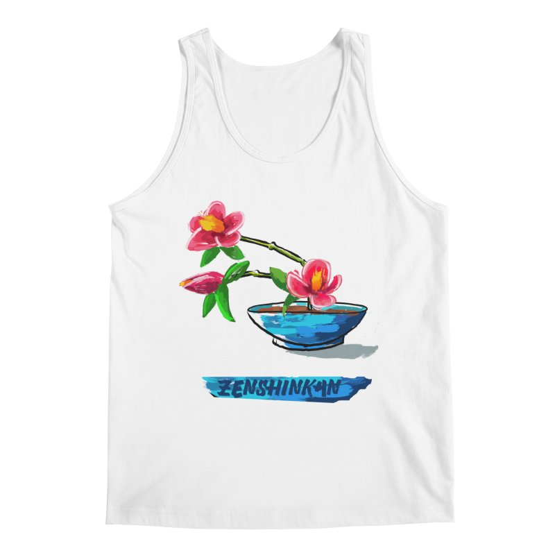 Ikebana II Men's Regular Tank by Zenshinkan's Shop