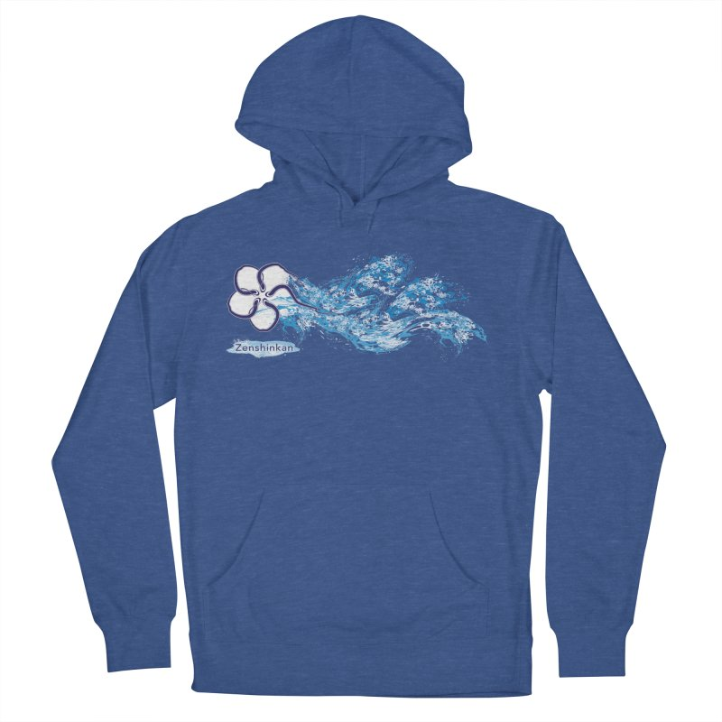 Water Element Women's French Terry Pullover Hoody by Zenshinkan's Shop