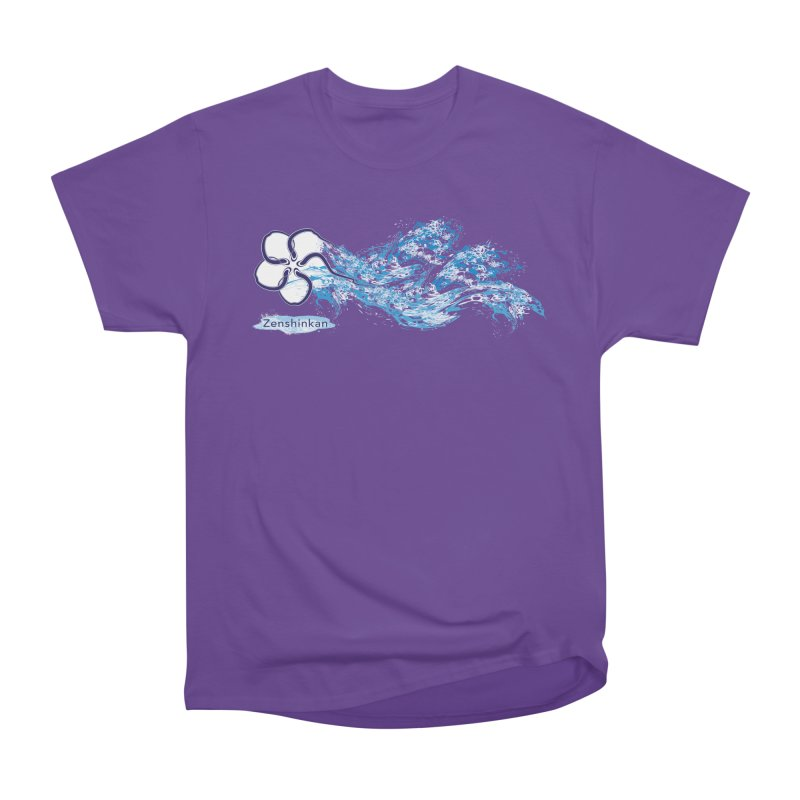 Water Element Women's Heavyweight Unisex T-Shirt by Zenshinkan's Shop