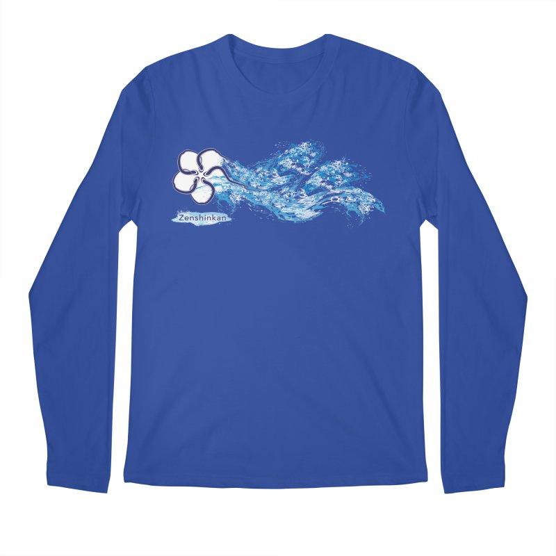 Water Element Men's Regular Longsleeve T-Shirt by Zenshinkan's Shop