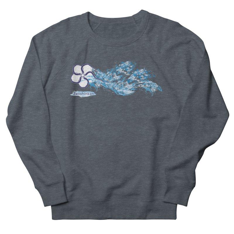 Water Element Men's French Terry Sweatshirt by Zenshinkan's Shop