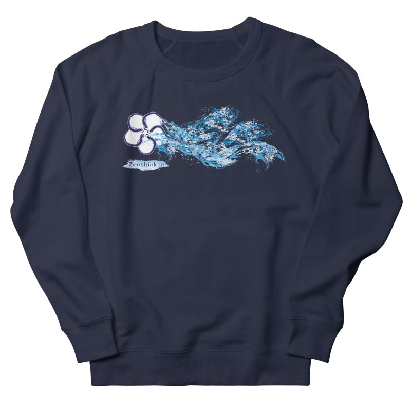 Water Element Men's Sweatshirt by Zenshinkan's Shop
