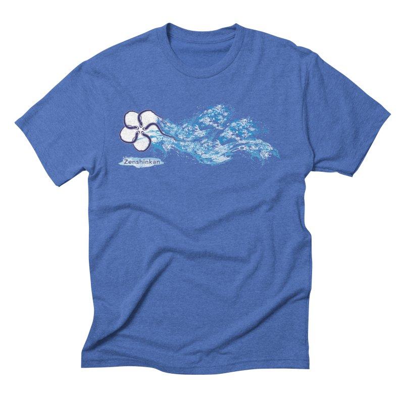 Water Element Men's Triblend T-Shirt by Zenshinkan's Shop