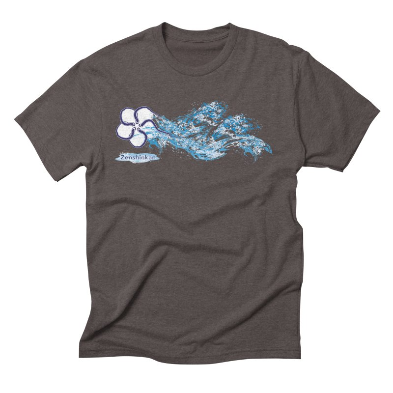 Water Element Men's Triblend T-Shirt by Zenshinkan's Shop