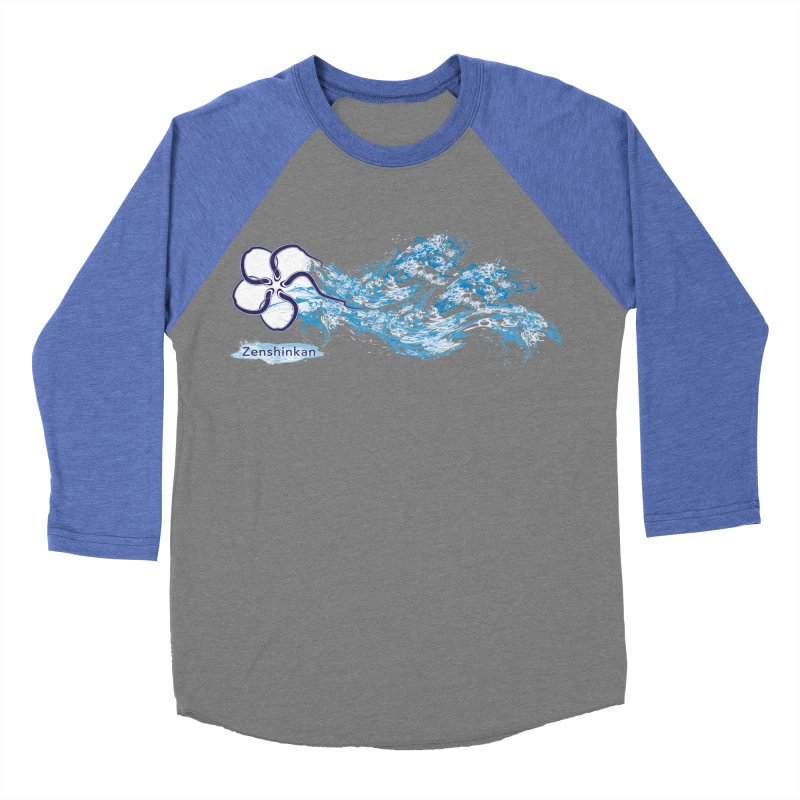 Water Element Women's Baseball Triblend Longsleeve T-Shirt by Zenshinkan's Shop