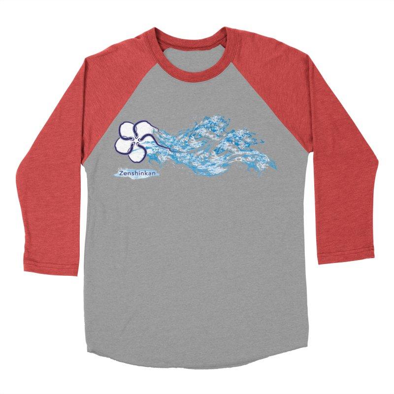 Water Element Women's Baseball Triblend T-Shirt by Zenshinkan's Shop