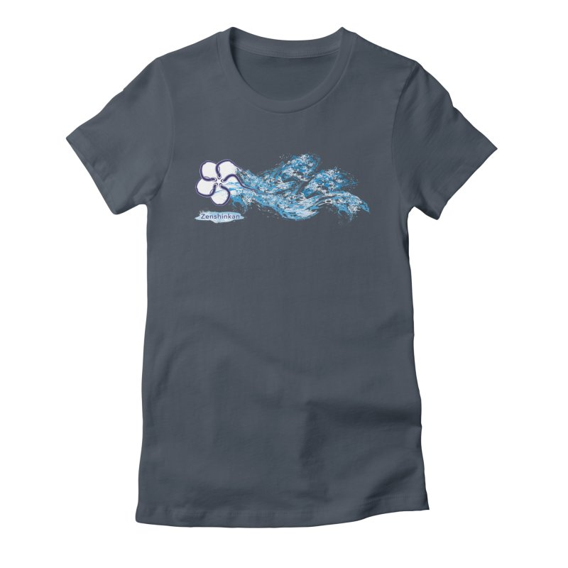 Water Element Women's T-Shirt by Zenshinkan's Shop