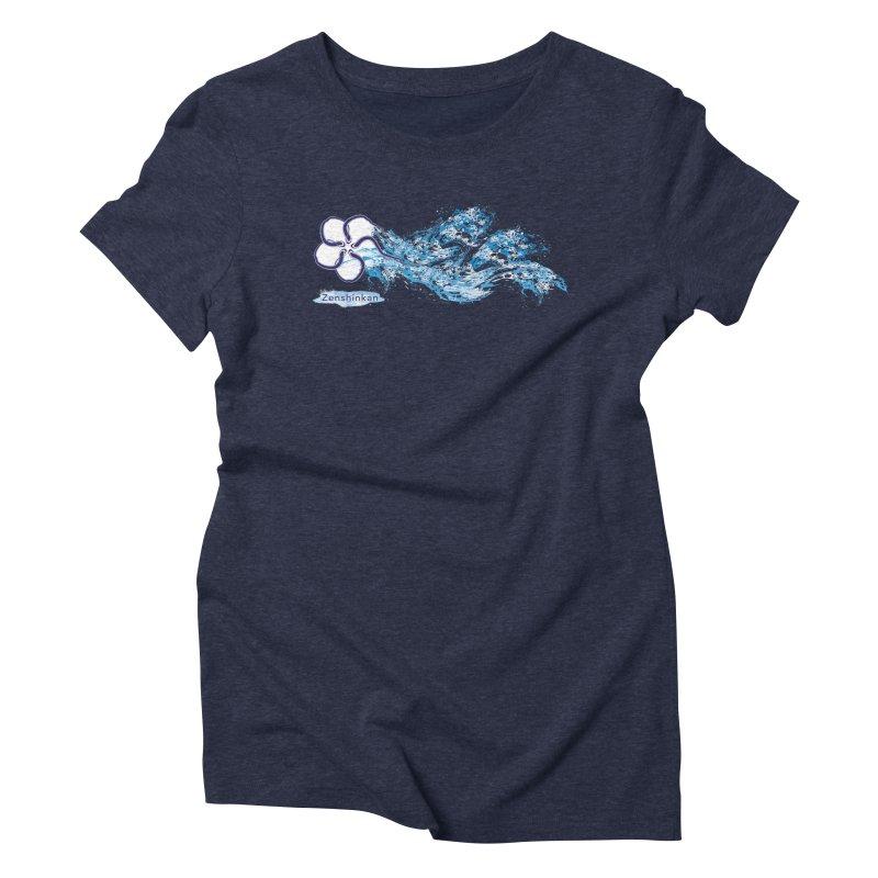 Water Element Women's Triblend T-Shirt by Zenshinkan's Shop