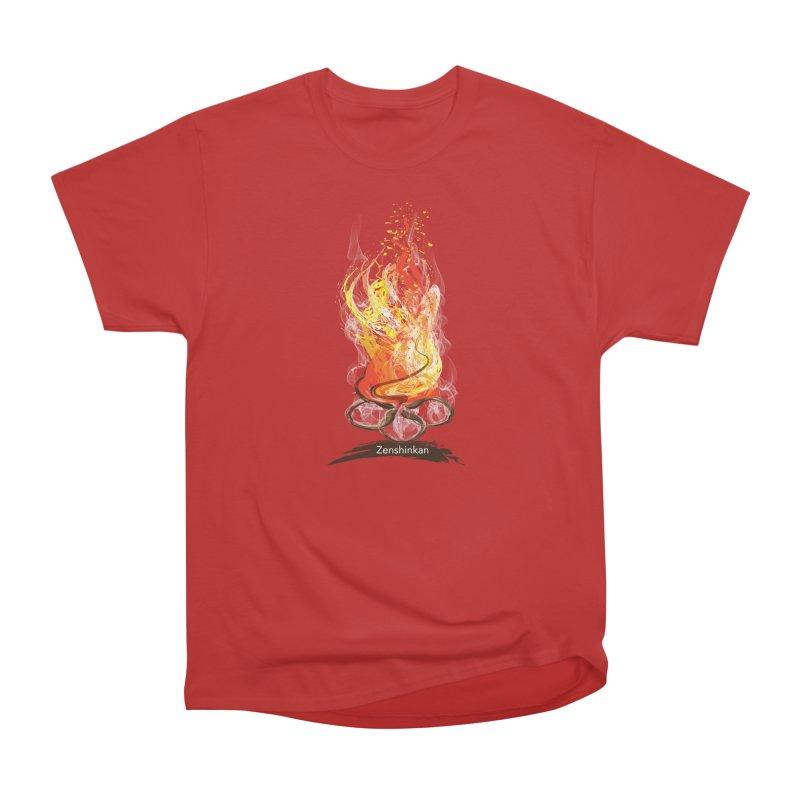 Fire Element Women's Heavyweight Unisex T-Shirt by Zenshinkan's Shop