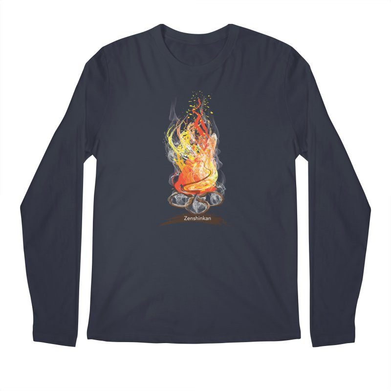 Fire Element Men's Regular Longsleeve T-Shirt by Zenshinkan's Shop