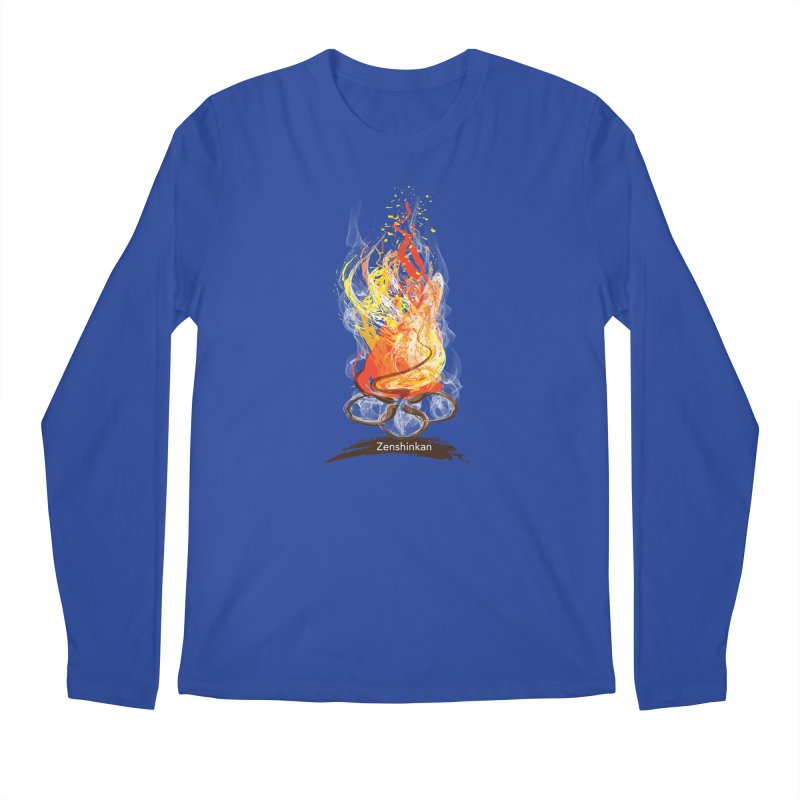 Fire Element Men's Regular Longsleeve T-Shirt by Zenshinkan's Shop